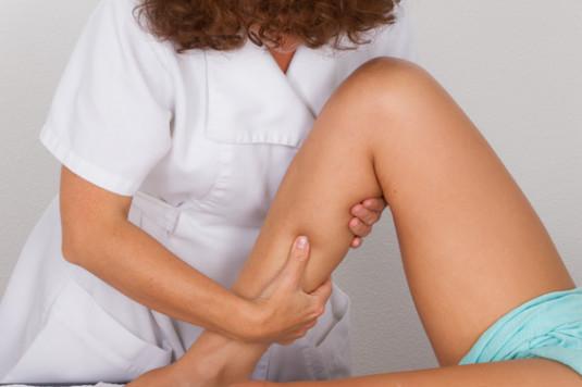 Les jambes drainage lymphatique